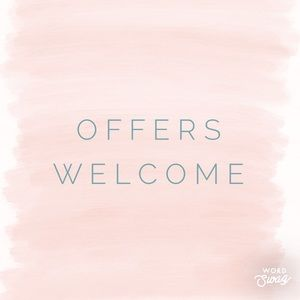 Other - Welcoming offers..